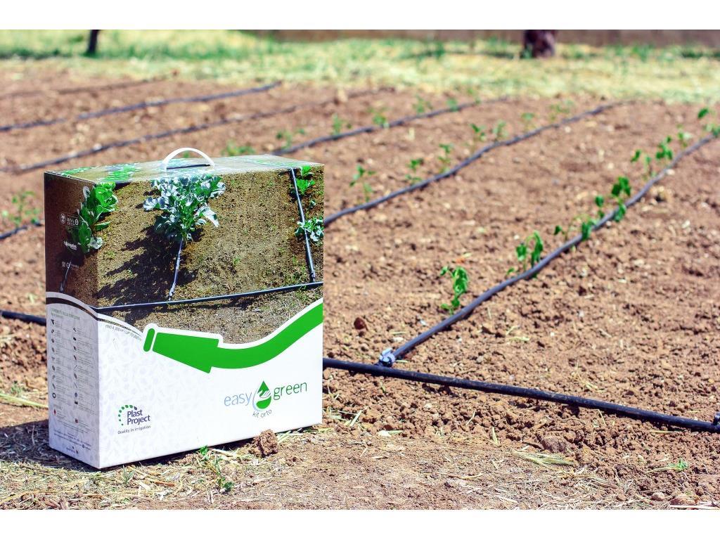 Kit per irrigazione orto domestico easy green in vendita for Programmatore irrigazione orto