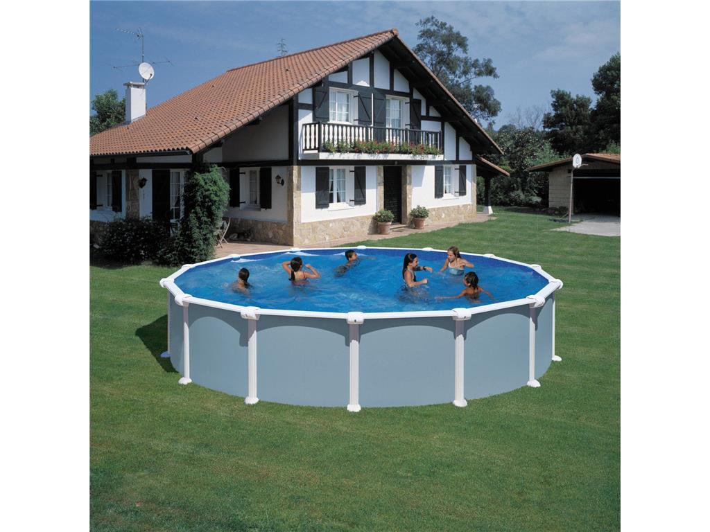 Piscina fuori terra rotonda astralpool atlantis in vendita for Piscina rotonda
