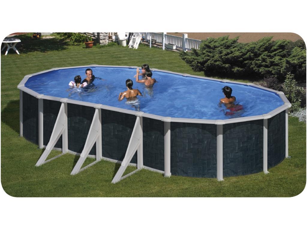 Piscina fuori terra ovale astralpool barbados in vendita for Piscina fuori terra ovale