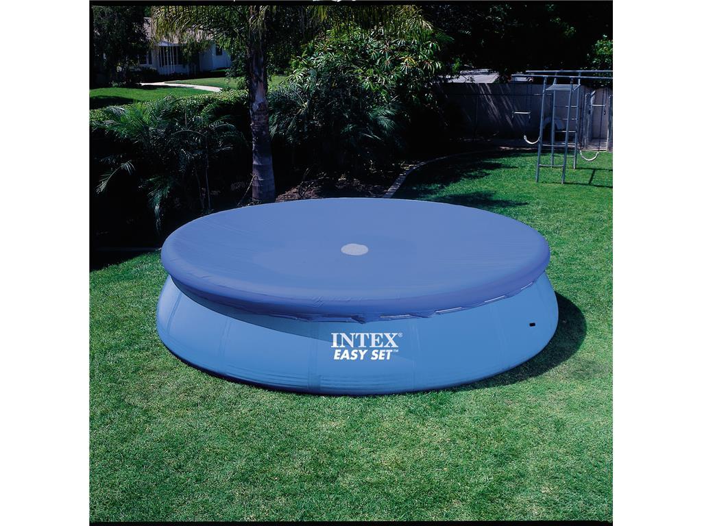 Telo copertura piscina easy tonda intex in vendita for Prodotti intex