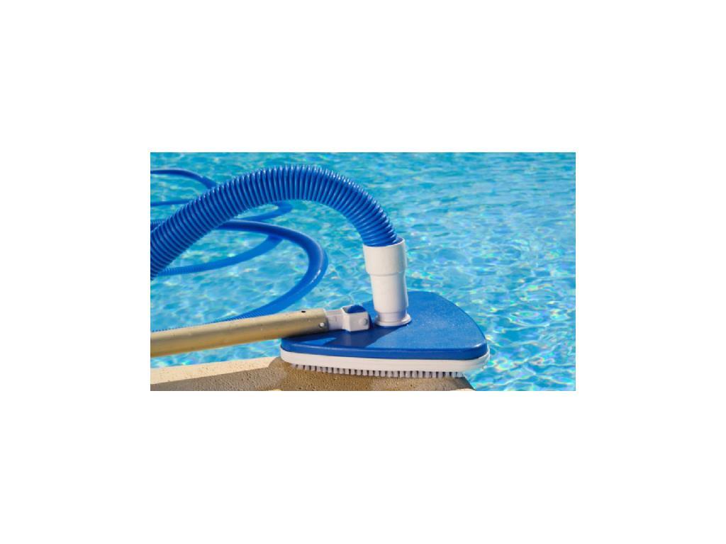Tubo galleggiante aspiratore piscina con terminali in - Aspiratore per piscina ...