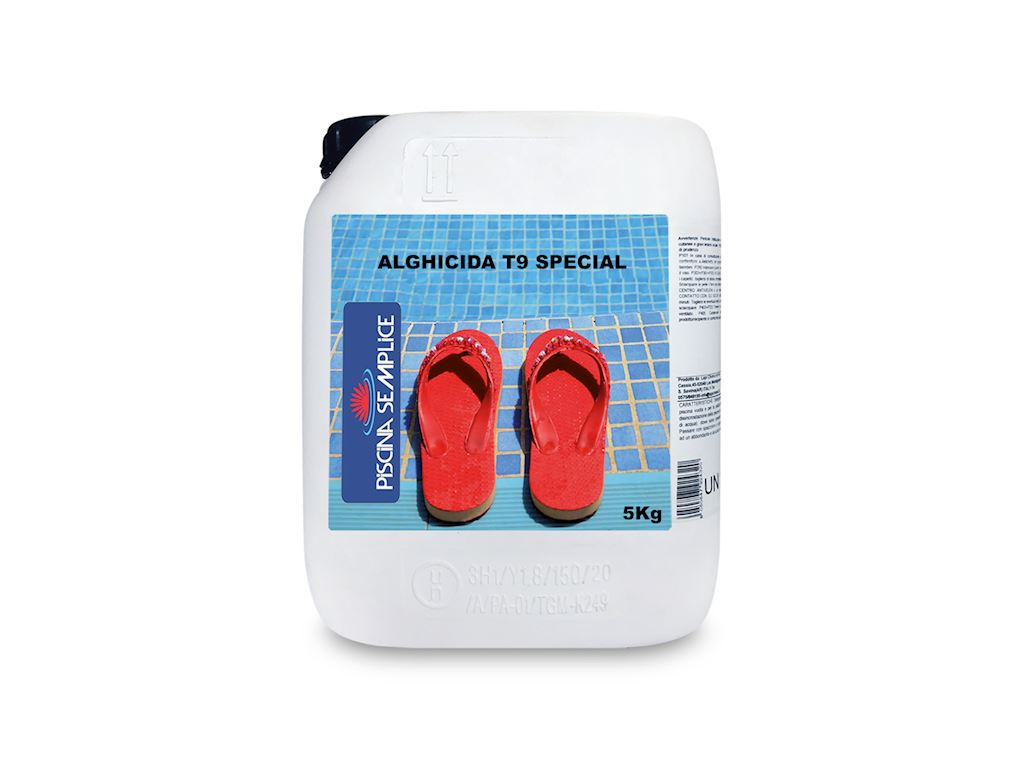 "PISCINA SEMPLICE (LAPI) - ALGHICIDA T9 SPECIAL ""ALGATOP N/50 SPECIAL"""