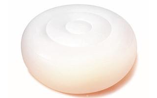 POGGIAPIEDI LUMINOSO GONFIABILE INTEX - OTTOMAN LED